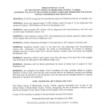School Board Resolution