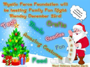 Family Fun Night December