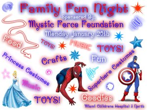 Family Fun Night January